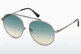 Óculos de marca Tom Ford FT0571 14W - Cinzento, Shiny, Bright