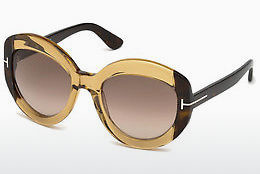 Óculos de marca Tom Ford FT0581 47F - Castanho, Bright