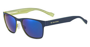 Boss Orange BO 0177/S JOE/1G MULTILAYER BLUEBLUE LIME (MULTILAYER BLUE)