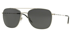 Burberry BE3079 116687 GREYBRUSHED SILVER