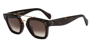 Céline CL 41077/S 086/Z3 BROWN DEGRADE'DKHAVANA