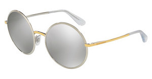 Dolce & Gabbana DG2155 13076G LIGHT GREY MIRROR SILVERSILVER/GOLD