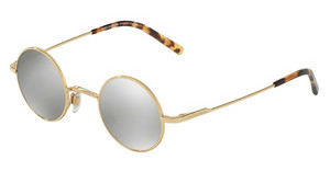 Dolce & Gabbana DG2168 02/6G LIGHT GREY MIRROR SILVERGOLD