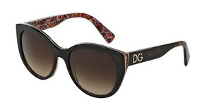 Dolce & Gabbana DG4217 279013 BROWN GRADIENTTOP HAVANA ON MOSAIC
