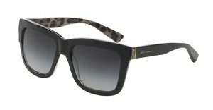 Dolce & Gabbana DG4262 28578G GREY GRADIENTTOP BLACK ON LEO