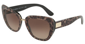 Dolce & Gabbana DG4296 199513 BROWN GRADIENTLEOPRINT