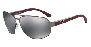Emporio Armani EA2036 31306G LIGHT GREY MIRROR BLACKGUNMETAL RUBBER