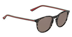Gucci GG 1102/S GYM/CO RED BROWNHVGYGRNRD (RED BROWN)
