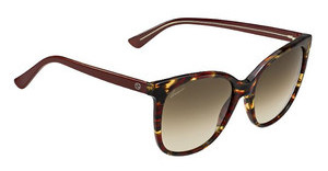 Gucci GG 3751/S 17R/CC BROWN SFRDHVBUGRY (BROWN SF)