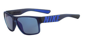 Nike NIKE MOJO SE EV0978 440 MATTE OBSIDIAN/RACER BLUE WITH GREY W/BLUE NIGHT FLASH LENS