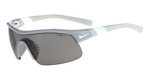 Nike SHOW X1 EV0617 010 WOLF GREY/WHITE WITH GREY W/SILVER FLASH LENS/OUTDOOR TINT LE LENS