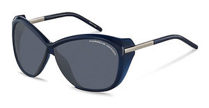 Porsche Design P8603 D black, blue mirroreddark blue