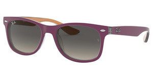 Ray-Ban Junior RJ9052S 703311 LIGHT GREY GRADIENT DARK GREYTOP MATTE VIOLET ON ORANGE