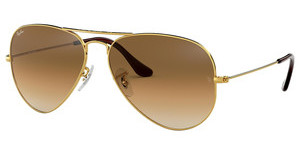 Ray-Ban RB3025 001/51 CRYSTAL BROWN GRADIENTGOLD