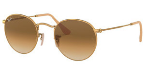 Ray-Ban RB3447 112/51 CLEAR GRADIENT BROWNMATTE GOLD