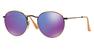Ray-Ban RB3447 167/1M MIRROR VIOLETBRUSHED BRONZE DEMI SHINY