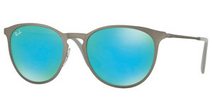 Ray-Ban RB3539 9015B4 GREEN LIGHT FLASH BLUERUBBER GUNMETAL