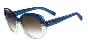 Salvatore Ferragamo SF793S 447 BLUE-GREEN