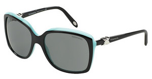 Tiffany TF4076 80553F GRAYTOP BLACK/BLUE