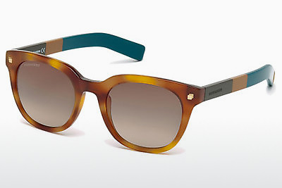 Óculos de marca Dsquared DQ0208 53K - Havanna, Yellow, Blond, Brown