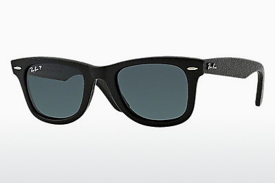 Óculos de marca Ray-Ban WAYFARER LEATHER (RB2140QM 1152N5) - Preto