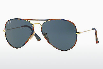 Óculos de marca Ray-Ban AVIATOR FULL COLOR (RB3025JM 170/R5) - Dourado