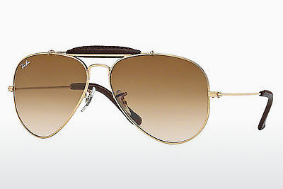 Óculos de marca Ray-Ban AVIATOR CRAFT (RB3422Q 001/51) - Dourado