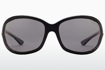 Óculos de marca Tom Ford Jennifer (FT0008 01D) - Preto, Shiny