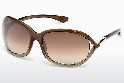 Óculos de marca Tom Ford Jennifer (FT0008 38F) - Castanho