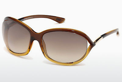 Óculos de marca Tom Ford Jennifer (FT0008 50F) - Castanho
