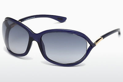 Óculos de marca Tom Ford Jennifer (FT0008 90W) - Azul, Shiny