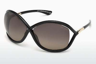 Óculos de marca Tom Ford Whitney (FT0009 01D) - Preto, Shiny