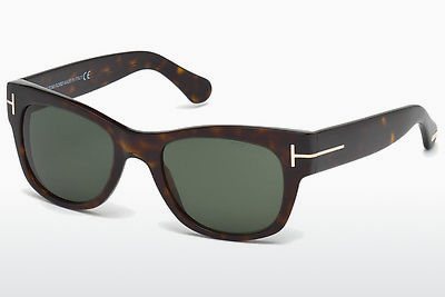 Óculos de marca Tom Ford Cary (FT0058 52N) - Castanho, Dark, Havana