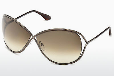 Óculos de marca Tom Ford Miranda (FT0130 36F) - Castanho, Dark, Shiny