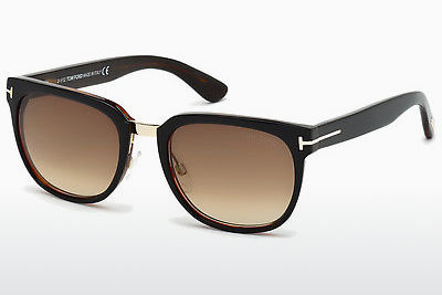 Óculos de marca Tom Ford Rock (FT0290 01F) - Preto, Shiny