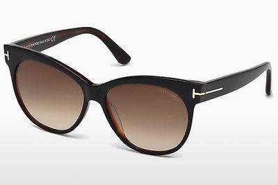 Óculos de marca Tom Ford Saskia (FT0330 03B) - Preto, Transparent