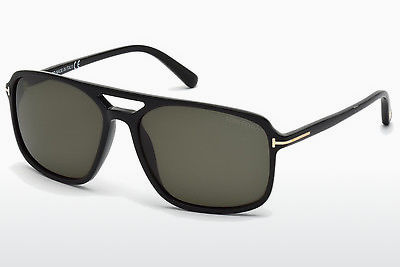 Óculos de marca Tom Ford Terry (FT0332 01B) - Preto, Shiny
