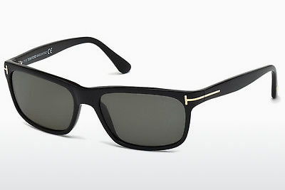 Óculos de marca Tom Ford Hugh (FT0337 01N) - Preto, Shiny
