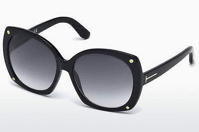 Óculos de marca Tom Ford Gabriella (FT0362 01B) - Preto, Shiny