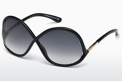 Óculos de marca Tom Ford Ivanna (FT0372 01B) - Preto, Shiny
