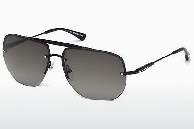 Óculos de marca Tom Ford Nils (FT0380 02B) - Preto, Matt