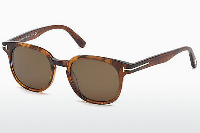 Óculos de marca Tom Ford Frank (FT0399 48B) - Castanho, Shiny