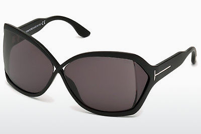 Óculos de marca Tom Ford Julianne (FT0427 02A) - Preto, Matt