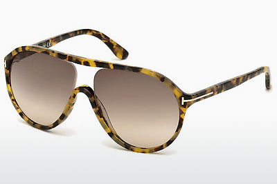 Óculos de marca Tom Ford Edison (FT0443 53F) - Havanna, Yellow, Blond, Brown