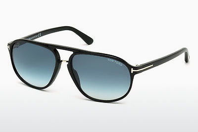 Óculos de marca Tom Ford Jacob (FT0447 01P) - Preto, Shiny