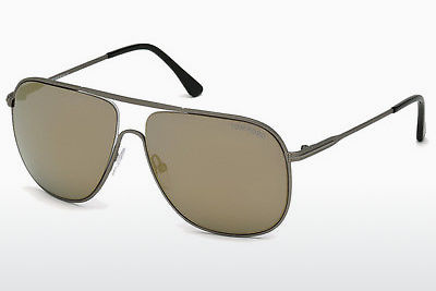 Óculos de marca Tom Ford Dominic (FT0451 09C) - Cinzento, Matt