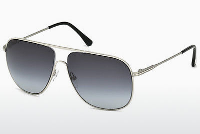 Óculos de marca Tom Ford Dominic (FT0451 16W) - Prateado, Shiny, Grey