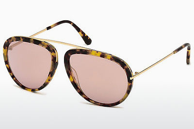 Óculos de marca Tom Ford Stacy (FT0452 53Z) - Havanna, Yellow, Blond, Brown