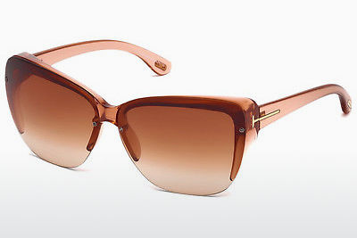 Óculos de marca Tom Ford FT0457 74F - Rosa, Rosa