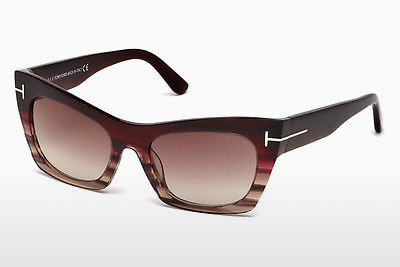 Óculos de marca Tom Ford Kasia (FT0459 71F) - Bordeaux, Bordeaux